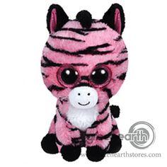 Green Earth Stores | 00213922946 - Zoey - Zebra Regular - Beanie Boo