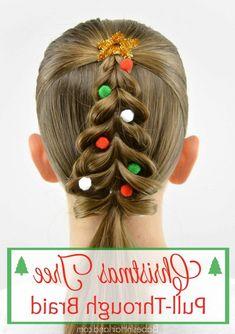 Weihnachten Frisur Für Mädchen