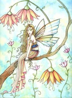 The Fairy Art and Fantasy Art of Molly Harrison: Official Gallery and Shop Fairy Dust, Fairy Land, Fairy Paintings, Fairy Drawings, Kobold, Elves And Fairies, Fairy Pictures, Unicorns And Mermaids, Beautiful Fairies