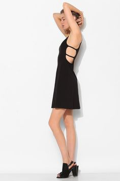 $50. Sparkle & Fade Knit Strappy-Side Mini Dress