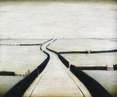 'Fylde' by British artist L. Klimt, Urban Landscape, Landscape Art, Art Is Dead, Bonnard, English Artists, British Artists, Spencer, David