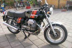Moto Guzzi 1000s, first series (82hp), fully restored by BCI Motorbikes. We restored three of them a couple of years ago. A very rare Moto Guzzi , the early 1000S . The bike has had a new paint-job A powder coated frame Engine, gearbox and rear drive line are overhauled All chrome parts, are repolished.