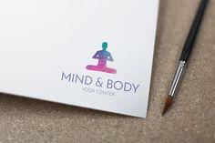 Christmas Sale | Yoga Logo | Yoga Premade Logo | Yoga Trainer Logo | Logo Design | Yoga Studio Logo | Meditation Logo | Yoga Branding