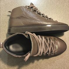 eaf002495fe4 Balenciaga Arena Sneakers Authentic Men s Balenciaga Sneakers US Size 9  Great Condition! Does not come with box or dust bag. Husband wore them a  handful of ...
