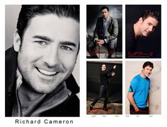 Comp Card, Male Modelling Portfolio, Sydney Australia by Kent Johnson.