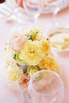 新郎新婦様からのメール 天王洲倶楽部様の装花 紅葉 : 一会 ウエディングの花