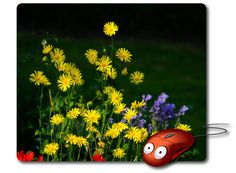 Computer Mouse Pad Mouse Mat Best Mousepad Photo Mouse Pad Nature Image flowers…
