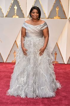 Black Women Hairstyles 2017 Oscars Red Carpet | OCTAVIA SPENCER