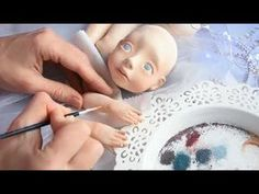 Лепка куклы. 7 правил работы с самоотвердеващим пластиком - YouTube
