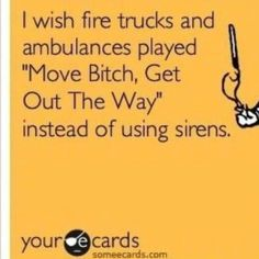 Hahaha!! YES!! Maybe then you'd see people move!