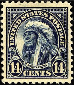 American Indian 14c, 1922.