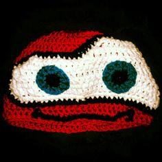 Lightning Mc Queen Mc Queen, Lightning, Knitting, Crochet, Projects, Crochet Hooks, Log Projects, Tricot, Breien