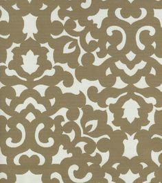Upholstery Fabric- Waverly - Garden Gate Porcini  Super love