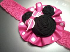 Cute Minnie bow idea