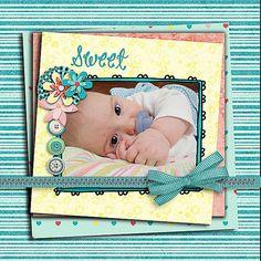 Wishful Digital Scrapbook Kit in Lovely by DigiScrapDelights
