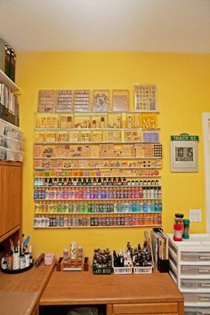 Great craft storage!