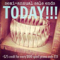 Shop the sale today!!! Click thru!!!