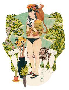 Illustrated Beauty   Riikka Sormunen inspiration