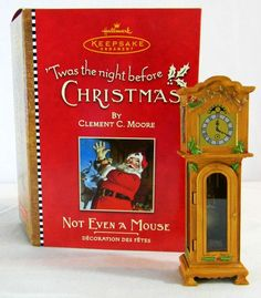 2001 'Twas the Night Before Christmas:  Not Even a Mouse