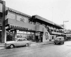 Modecentrum (1962-63) in Roosendaal, the Netherlands, by Sier van Rhijn