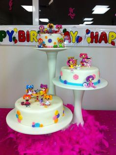 LALALOOPSY BIRTHDAY CAKE - made by my sister for my daughters birthday