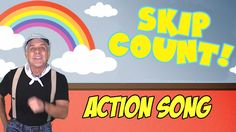 "FREE Educational Video: Children will learn to count by twos with our popular action song, ""Skip Count."" This song is great for early math, brain breaks, group activities and indoor recess."