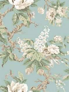 York Wallcoverings Legacy Vintage L x W Floral and Botanical Wallpaper Roll Color: Light Purple/Beige/Off White Antique Wallpaper, Botanical Wallpaper, Embossed Wallpaper, Brick Wallpaper, Wallpaper Panels, Geometric Wallpaper, Room Wallpaper, Textured Wallpaper, Flower Wallpaper
