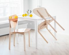 Doppio - café chair on Behance