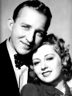 Bing Crosby and Joan Blondell