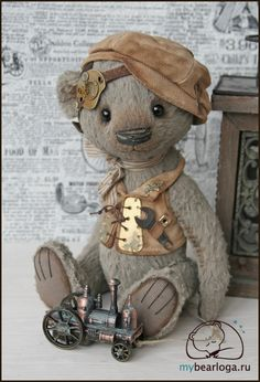 Steampunk Tendencies | Steampunk Teddy Bears By Elena Kamatskaya