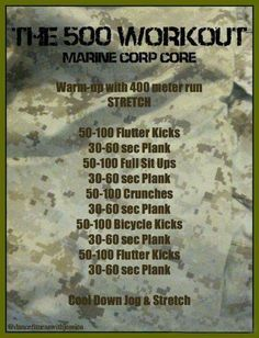 Build Killer Abs With This 10 Min Workout Home Field Meets The Home Front - The 500 Workout - Marine Style 10 Min Workout, Workout Challenge, Gym Workouts, At Home Workouts, Workout Plans, Burpee Challenge, Marine Workout, Army Workout, Spartan Workout