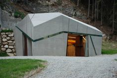 Hydroelectric Power Station Winnebach by monovolume architecture + design