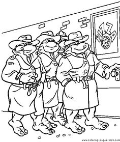 88 best Ninja Turtles Coloring Pages images on Pinterest | Ninja ...