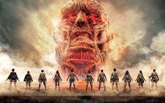 Lataa kuva Hyökkäys Titan, Colossus, manga, Japanilainen TV-sarja