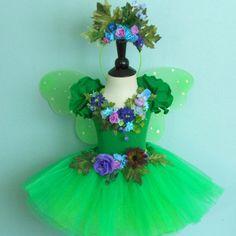 Fairy Costume  The Woodland Faerie  Nature Fairy by FairyNanaLand, $58.00
