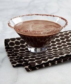 Chocolate Malted Martini drink recipe
