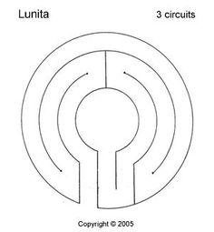 Lunita Labyrinth, 3 circuits - All For Garden Walking Meditation, Meditation Garden, Meditation Space, Meditation Buddhism, Landscape Design, Garden Design, Labyrinth Maze, Marble Maze, Prayer Garden