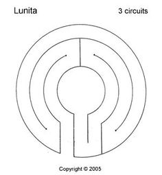 Lunita Labyrinth, 3 circuits - All For Garden