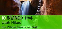 10 Family Friendly Hikes in Utah