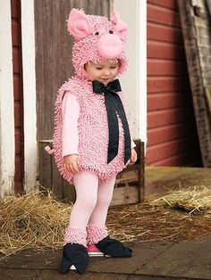 Pig costume for kids baby toddler. Cute Halloween costume ideas adorable pig costume.   costumes   Pinterest   Pig costumes Halloween costumes and ...  sc 1 st  Pinterest & Pig costume for kids baby toddler. Cute Halloween costume ideas ...
