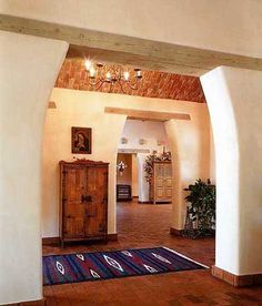 NEW MEXICO STYLE ADOBE HOME