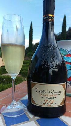 Franciacorta sparkling wine from Castillo di Gussago.