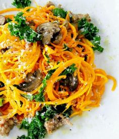 Spiralizer Recipes: Butternut Squash Noodles