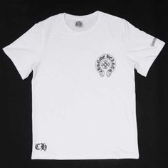 61d5afb64a7c Chrome Hearts T-shirt MBLAQ White V45 Short Sleeves Cheap Sale Shop