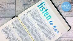 Week 28 of the original Bible Art Journaling Challenge by Rebekah R Jones.