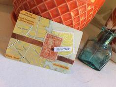 #carddeckswap Jessica Brogan altered trading card