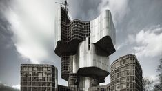 With a major exhibit at MoMA, a new book on Marcel Breuer, and an online campaign to stop demolitions of raw-concrete icons, mid-century Brutalism is on every modernist's mind. Here are our picks for what to see, read and visit. Russian Architecture, Futuristic Architecture, Concrete Architecture, Moma, Moscow Buildings, Concrete Building, Brutalist, Museum Of Modern Art, Macedonia