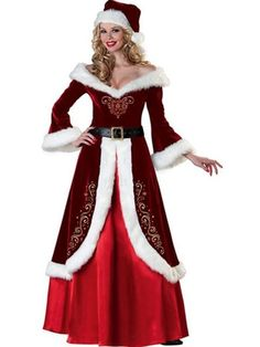 Hot sellint Sexy Christmas Costumes Fancy Dress Cosplay Suits Santa Outfits for Women Costume (Mainland)) Robe Halloween Costume, Costume Christmas, Costume Sexy, Christmas Costumes, Costume Dress, Christmas Dresses, Adult Halloween, Christmas Carnival, Queen Costume