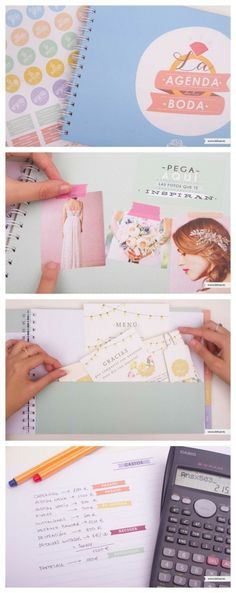 agenda de boda