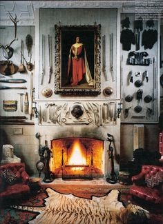 Art of the fireplace